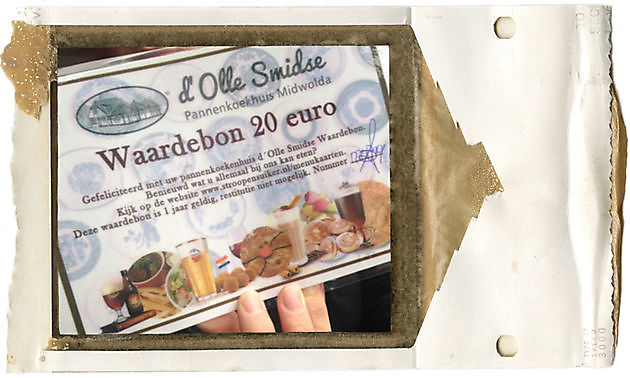 Pannenkoeken Kadobon - Pannenkoekenhuis d'Olle Smidse Midwolda
