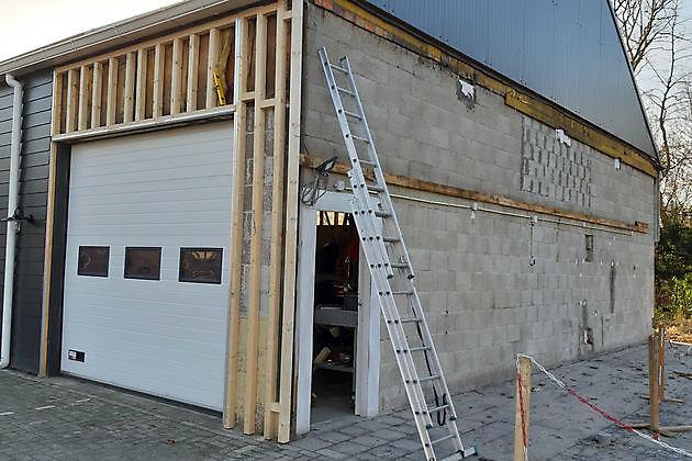 Uitbreiding parkeerplaats - Pannenkoekenhuis d'Olle Smidse Midwolda
