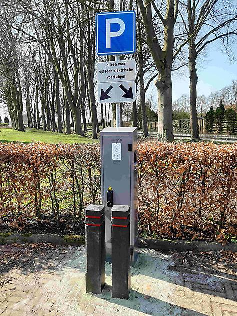 Laden elektrische auto, nu ook mogelijk op steenworp afstand - Pannenkoekenhuis d'Olle Smidse Midwolda
