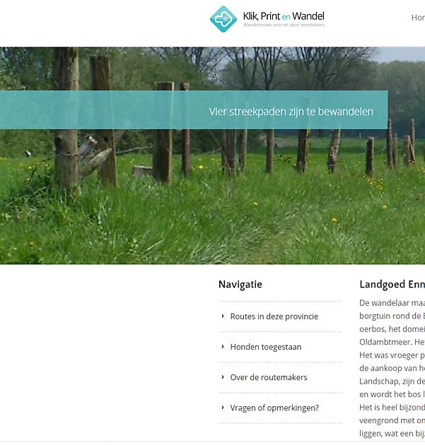 Wandelroute Ennemaborg en Oldambtmeer - Pannenkoekenhuis d'Olle Smidse Midwolda