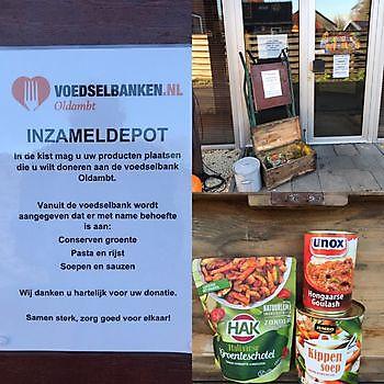 Voedselbank Oldambt depot Pannenkoekenhuis d'Olle Smidse Midwolda