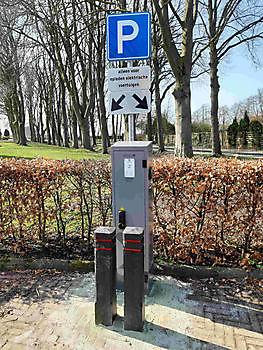 Laden elektrische auto, nu ook mogelijk op steenworp afstand Pannenkoekenhuis d'Olle Smidse Midwolda